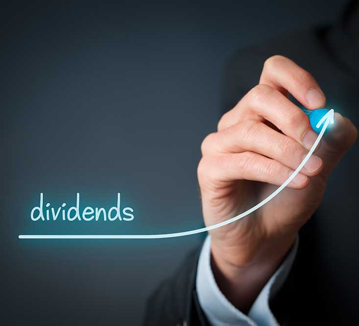How we see dividends should grow over time